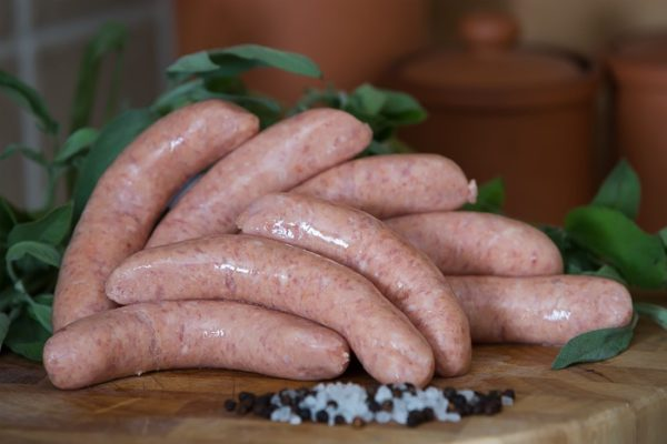 Sweet Chilli Pork Sausages